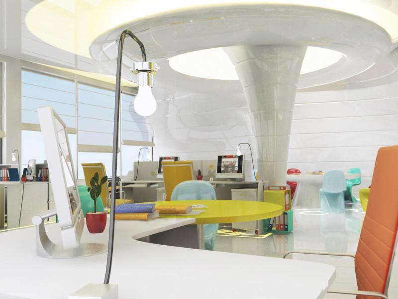 интерьер офиса Idea