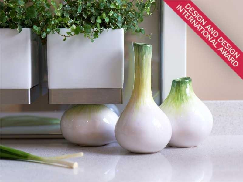 Onion vases